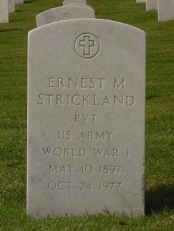 Ernest Marvin Strickland