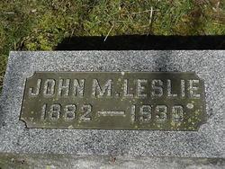 John M. Leslie