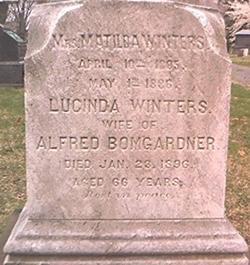 Lucinda <i>Winters</i> Bomgardner