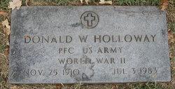 Donald W Holloway
