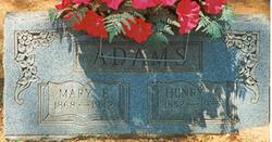 Mary Elvira <i>Frakes</i> Adams