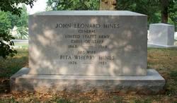 Gen John Leonard Hines