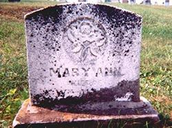 Mary Ann <i>Sheibley</i> Allen