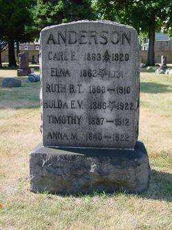 Anna M Anderson