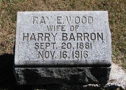 Ray E. <i>Wood</i> Barron