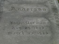 John Norman Anderson
