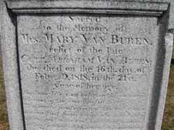 Maria <i>Hoes</i> Van Buren