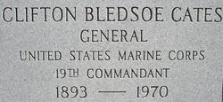Gen Clifton Bledsoe Cates