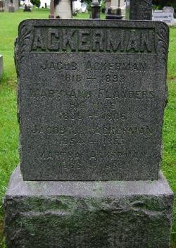Mary Ann <i>Flanders</i> Ackerman