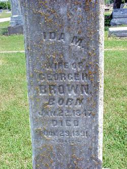 Ida M <i>Talcott</i> Brown