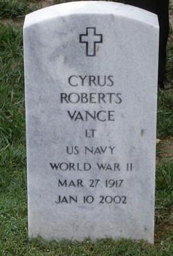 Cyrus Roberts Vance
