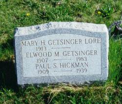 Mary <i>Hickman</i> Getsinger-Lore