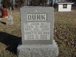 John M. Dunk