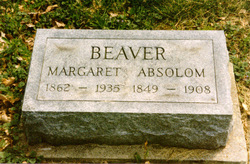 Margaret Louisa <i>Gardner</i> Beaver