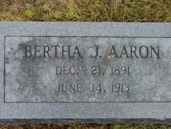Bertha J Aaron