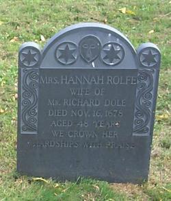 Hannah <i>Rolfe</i> Dole