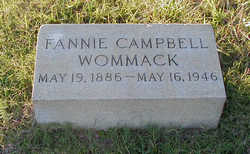 Fannie <i>Campbell</i> Wommack