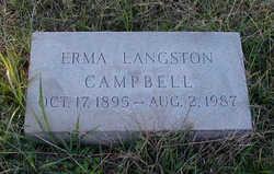 Erma Josephine <i>Langston</i> Campbell