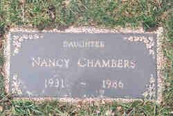 Nancy <i>Chambers</i> Chambers