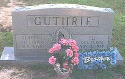 Gladys Lorene <i>Roebuck</i> Guthrie