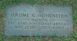 Jerome George Hohenstein