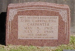 Sybil <i>Carrington</i> Carpenter