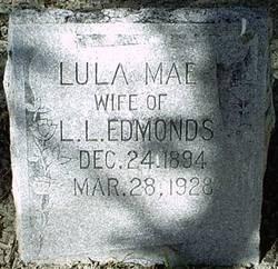 Lula Mae <i>Parker</i> Edmonds