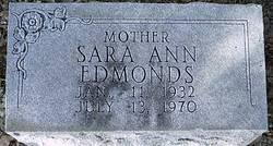 Sara Ann <i>Cheek</i> Edmonds
