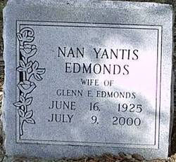 Nan <i>Yantis</i> Edmonds