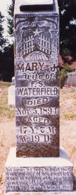 Mary Jemima <i>Burrus</i> Waterfield