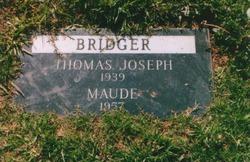 Maude <i>Buckman</i> Bridger