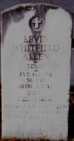 Ervin Whitfield Allen