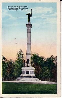 Confederate Soldiers of Georgia Monument