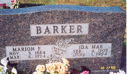 Marion Francis Barker