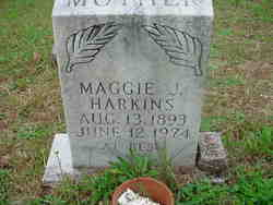 Maggie Jane <i>Rich</i> Harkins