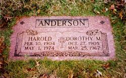 Harold Hal Anderson