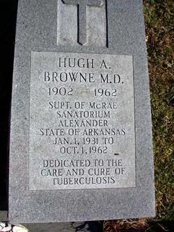 Dr Hugh A. Browne