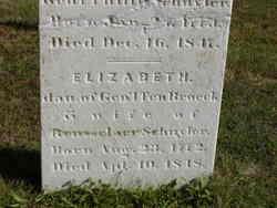 Elizabeth <i>Ten Broeck</i> Schuyler