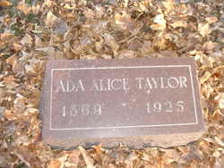 Ada Alice <i>Klinstiver</i> Taylor