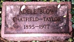 Adele Margaret <i>Blow</i> Chatfield-Taylor