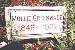 Mary Edith Mollie <i>Ferguson</i> Greenwade