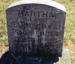 Martha <i>Barber</i> Cowan