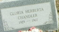 Gloria Herberta <i>Houges</i> Chandler