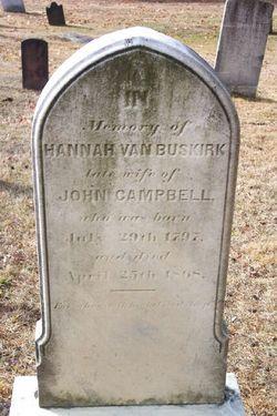 Hannah <i>Van Buskirk</i> Campbell