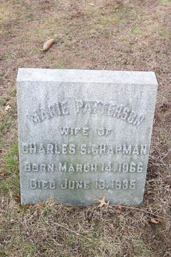 Marie <i>Patterson</i> Chapman