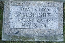 Opal (Jody) Allbright