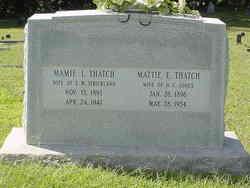Mamie Lee <i>Thatch</i> Strickland