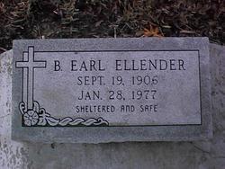 Benjamin Earl Ellender