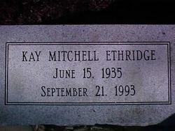 Kay <i>Mitchel</i> Ethridge