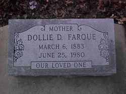 Dollie Eva Farque